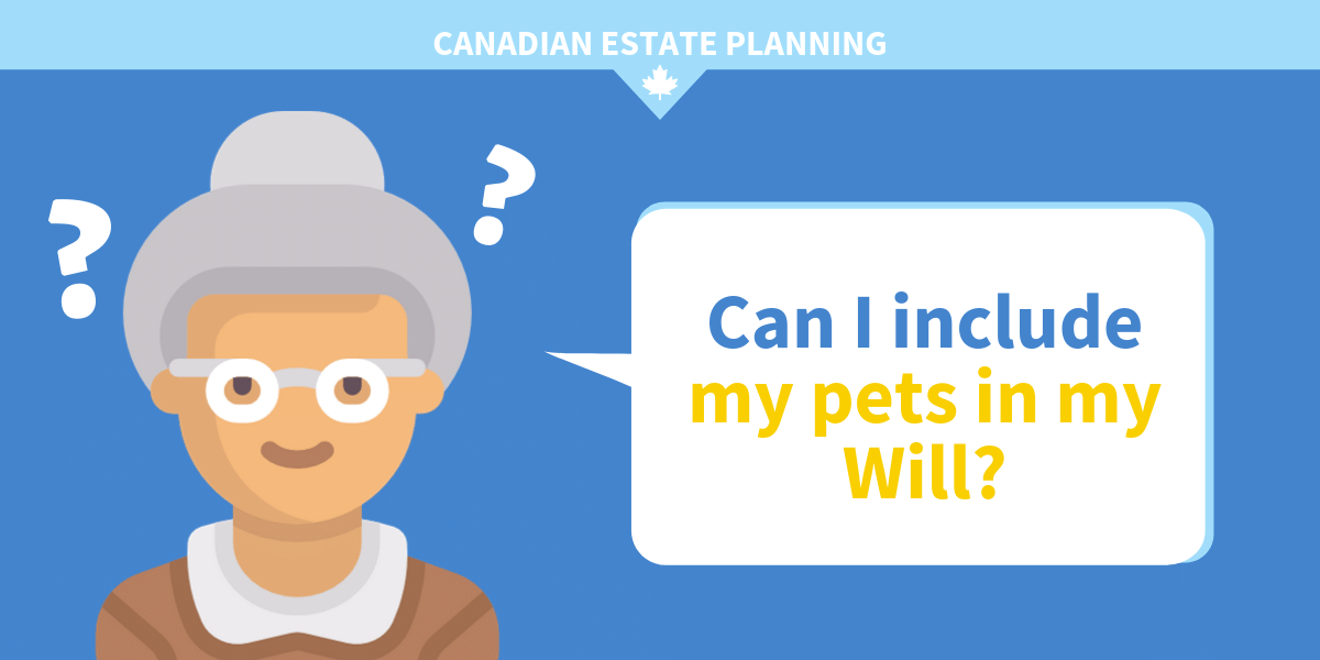 Can you include pets in your will?