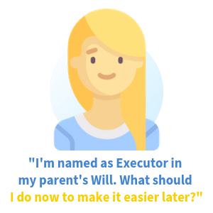 how to prepare for being an executor