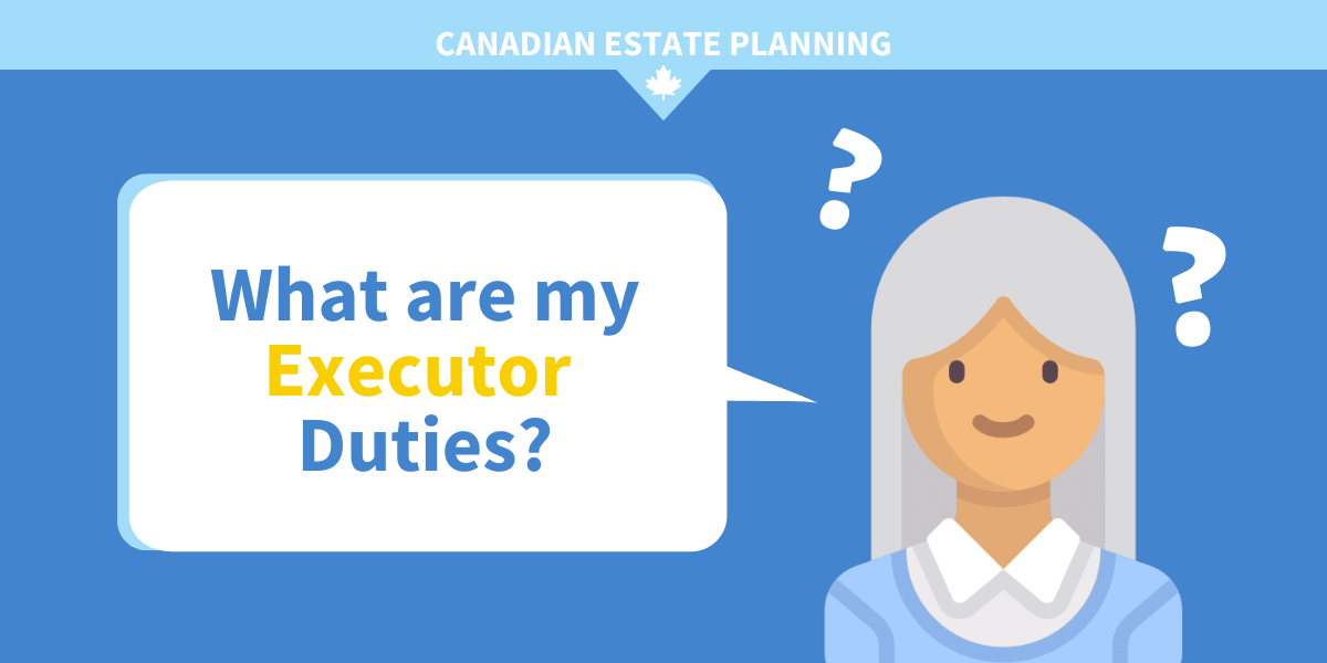 what are my executor duties?