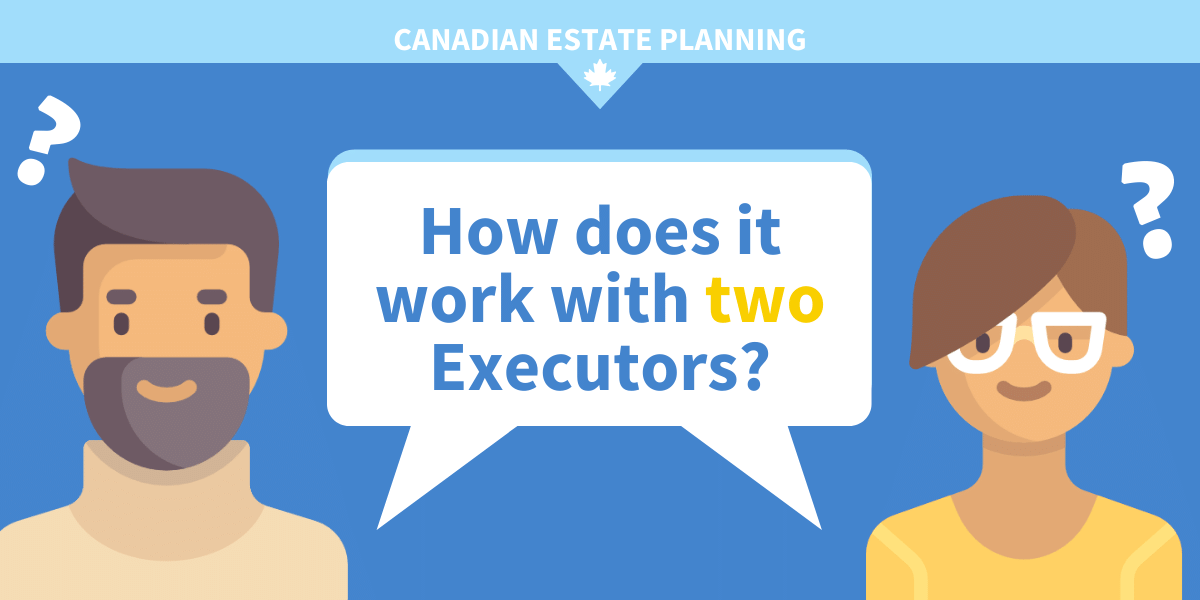 How does it work with two executors?