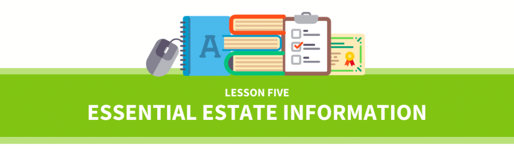 executor preparation course  lesson five - collecting essential information